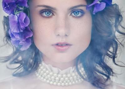 Bridal & Eve by Eva Poleschinski 2015 © Marlene Rahmann, Hair & Make Up by Sabine Reiter, Michaela @ Stella, Flower Arrangement by blumengestalten